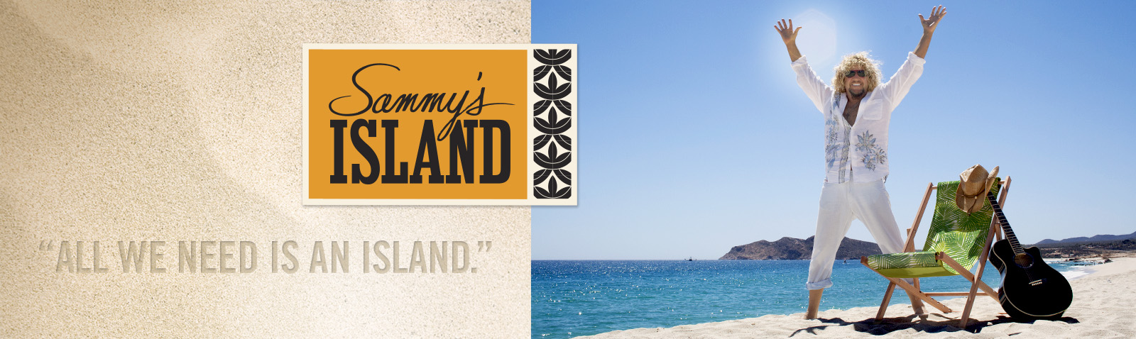 Sammys island banner