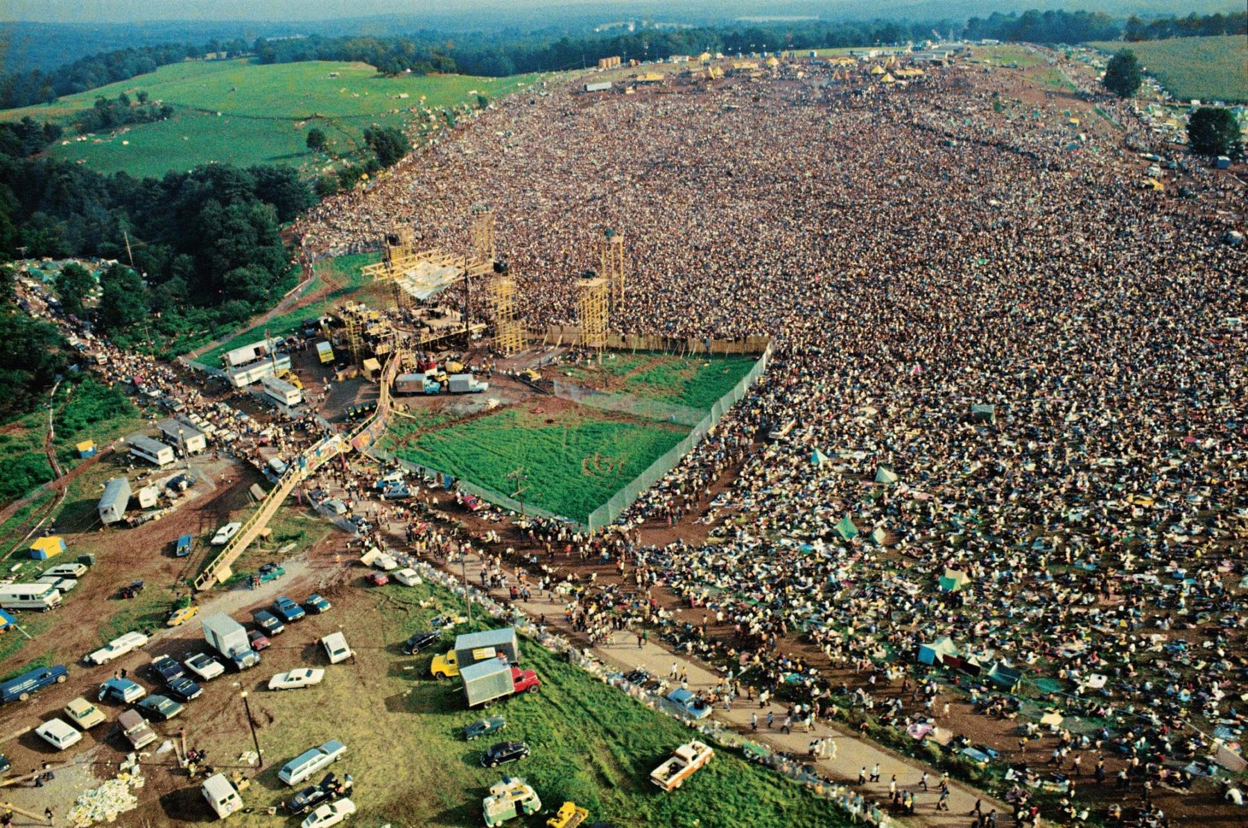 an analysis of woodstock a peaceful rock revolution The portable sixties reader / table of contents the only indian who saw jimi hendrix play 'the star-spangled banner' at woodstock / in the revolution.