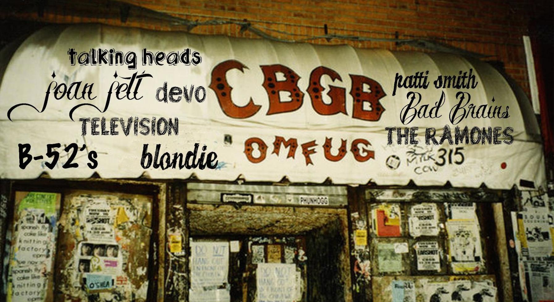 Mira cuánto pagaron por el toldo del difunto foro CBGB
