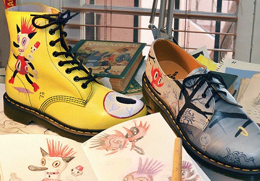 0cda5cfde Gary Baseman and Dr. Martens. Epic Right's ...