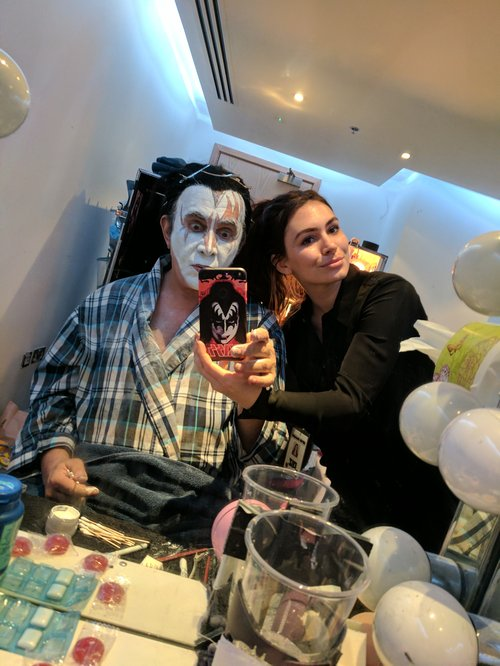 KISS, gene simmons, google, pixel, phone case