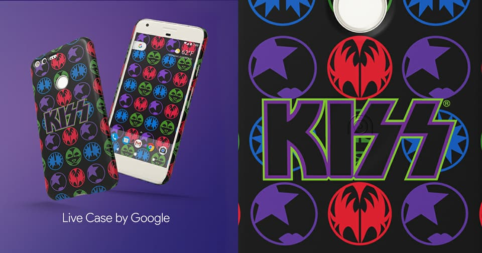 KISS, pixel, google, phone case