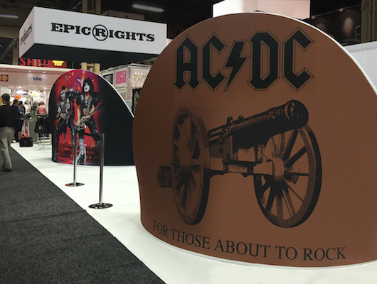 Licensing Expo, AC/DC, Epic Rights