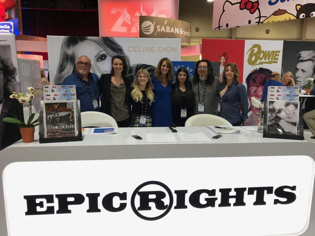 epic rights, licensing expo