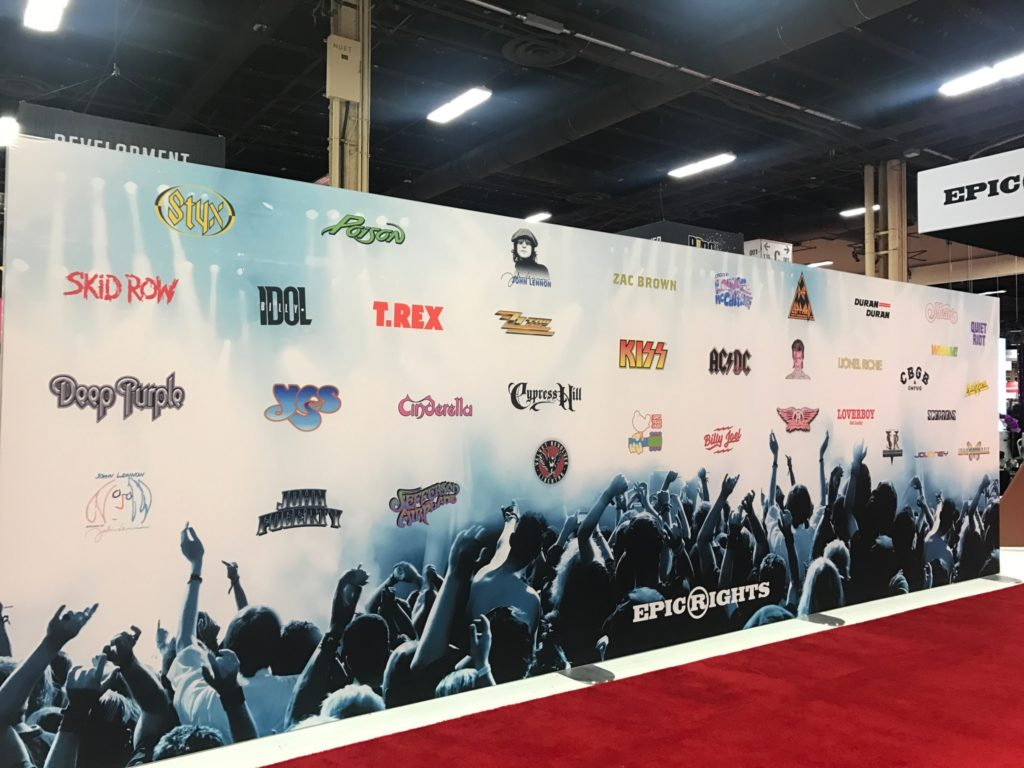 epic rights, licensing expo, roster