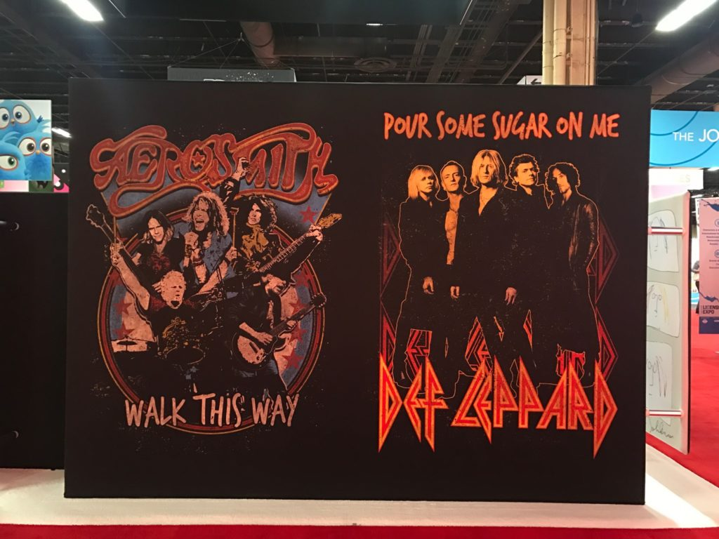 epic rights, licensing expo, def leppard, aerosmith