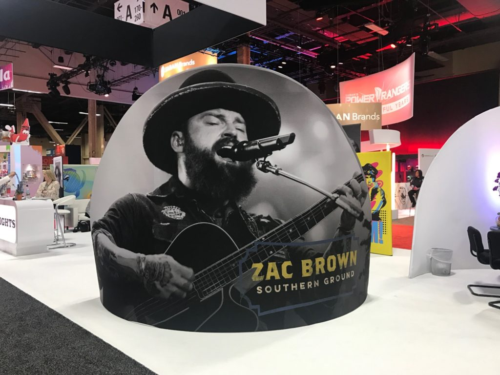 epic rights, licensing expo, zac brown band